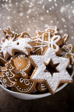 Traditional gingerbread cookies