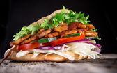 Fotografie Döner kebab