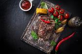 Fotografie chutné hovězí steak