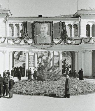 Soviet People in Kislovodsk, Soviet Union, 1953