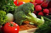 Zelené brokolice
