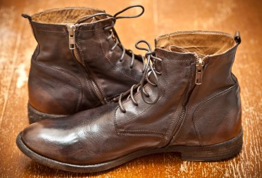 Men's fashion leather shoes handmade