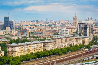 Moscow - city landscape, the historical part of the city