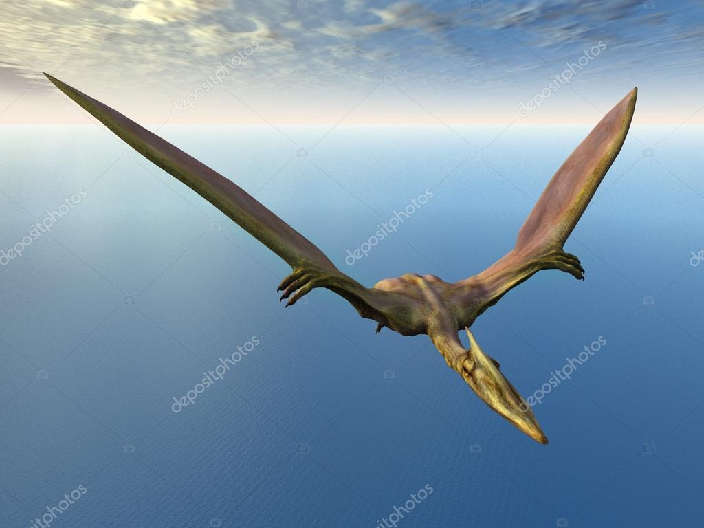 Quetzalcoatlus de dinosaure volant photographie mic1805 - Dinosaur volant ...