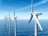 Fotografie Offshore-Windpark