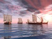 Fotografie Viking lodí