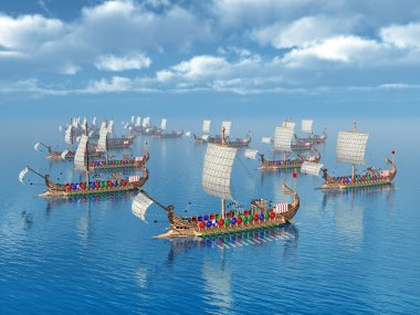 Roman Warships