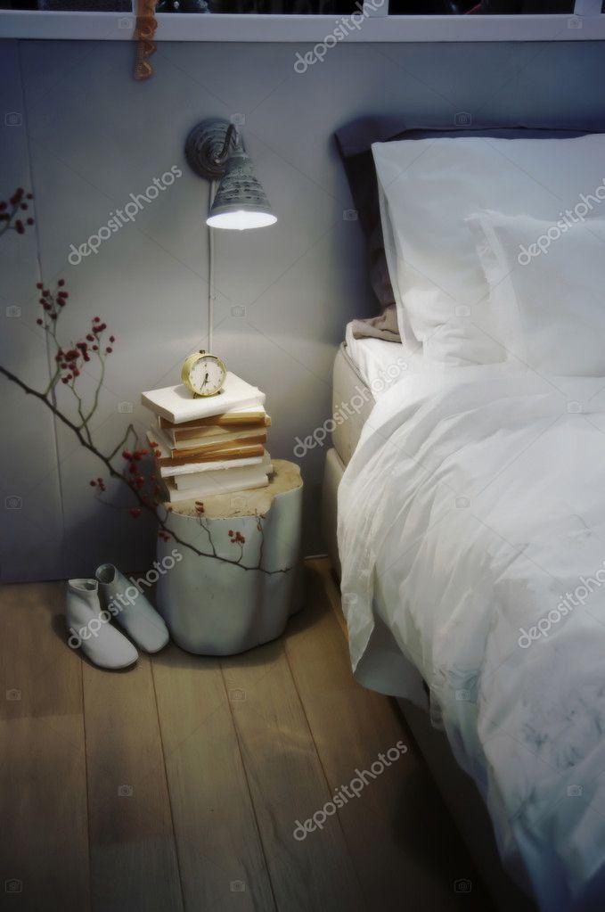 Retro bed room
