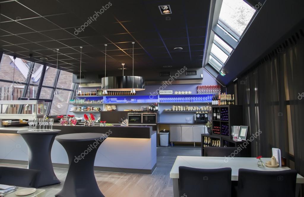 Interno del bar moderno foto stock araraadt 14484153 for Interno moderno