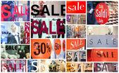 Photo Winter sale collage