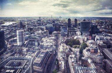 panorama of London city