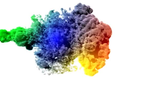 barevný kouř
