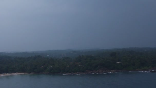 Lighthous view of coast line, Sri Lanka.