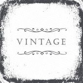 Vintage grunge frame background. Vector, EPS8