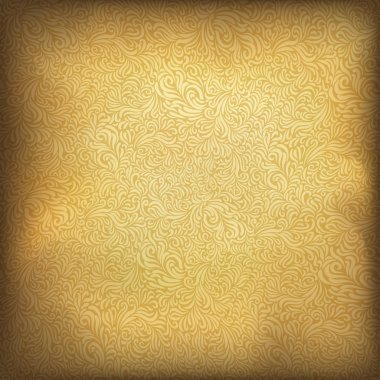Golden vintage background. Vector illustration, EPS10.