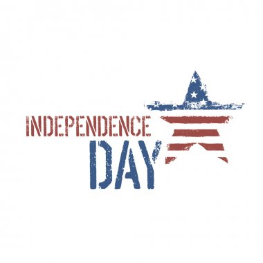 Independence day composition. Vector, EPS10.