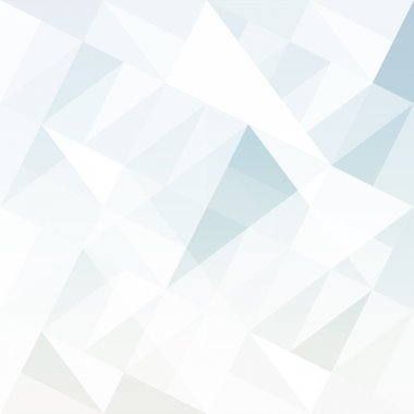 Abstract background with triangles. Vector.