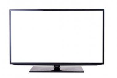 TV set, isolated on white background