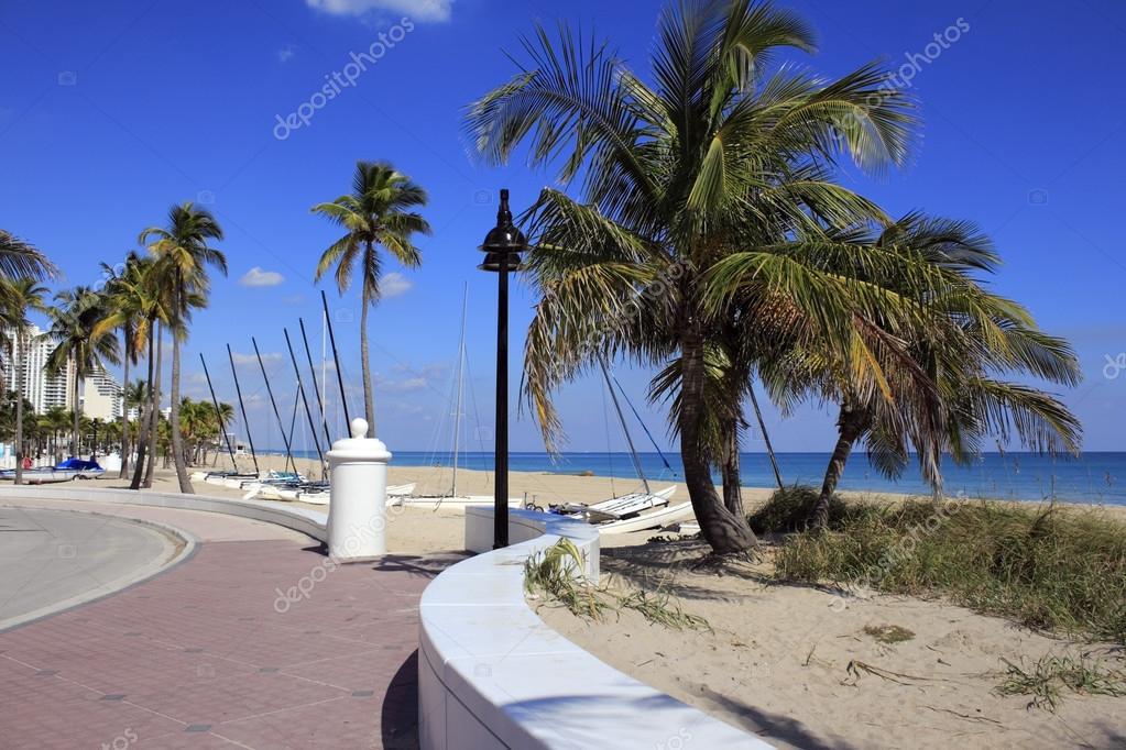 Fort Lauderdale Beach Park Looking North