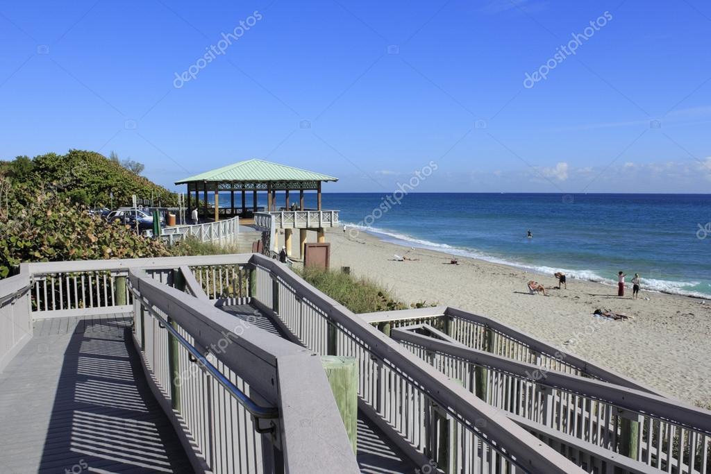 Boca Raton Beach Pavilion Walkway