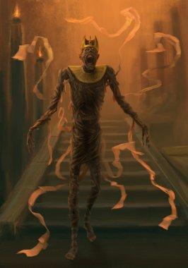 Undead mummy.