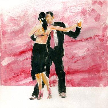 Gouache tango.
