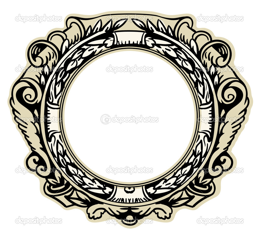 marco rococó — Archivo Imágenes Vectoriales © Sleepwalker #30724879