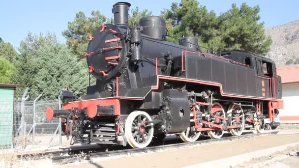 Lokomotiva černá