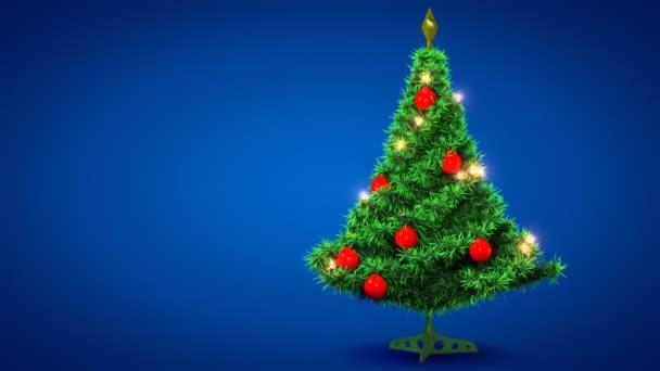 Plastové vánoční strom