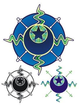 Sun, Moon, Star, night