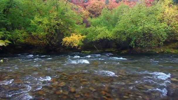 cache řeky utah pádu scenérie