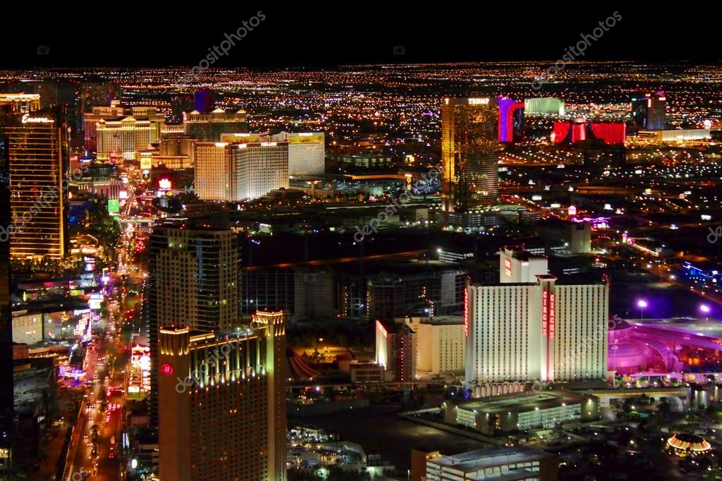 Las Vegas Strip Bright Lights