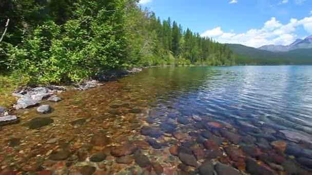 Národní park glacier jezero kintla