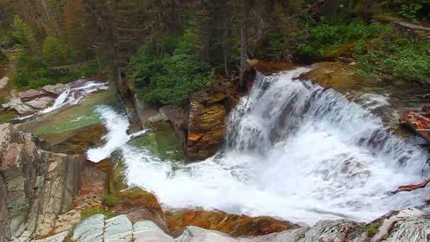 vodopád národní park Glacier