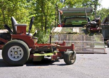 Lawn Service Equipment