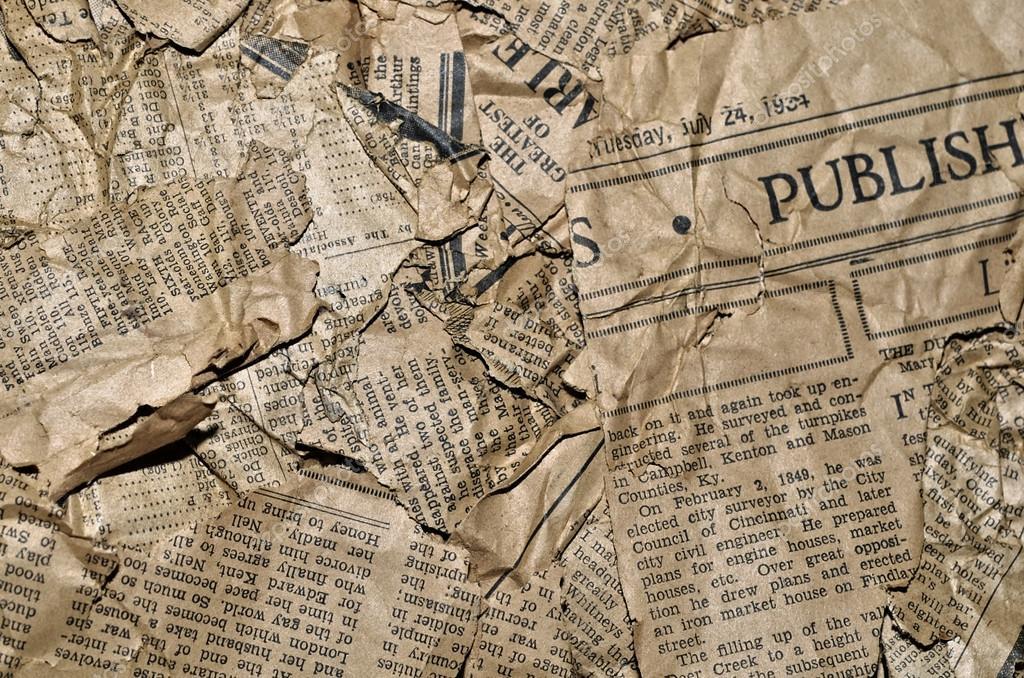 Старая газета фон