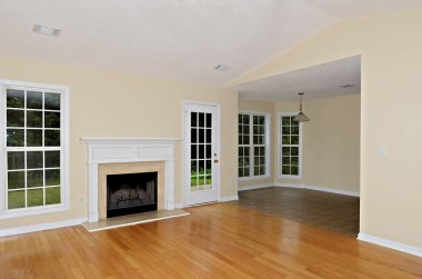 Living and Dining Area in House