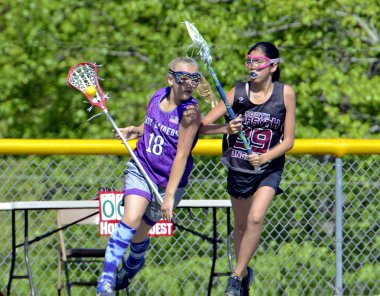 Young Girls Lacrosse