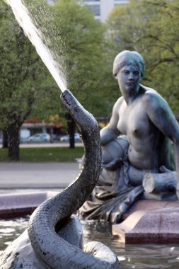 Neptunbrunnen (Neptune fountain) in Berlin