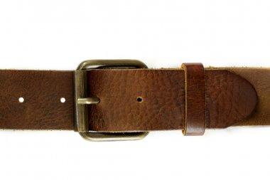 Leather belt stock vector