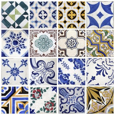 Traditional tiles from Porto, Portugal