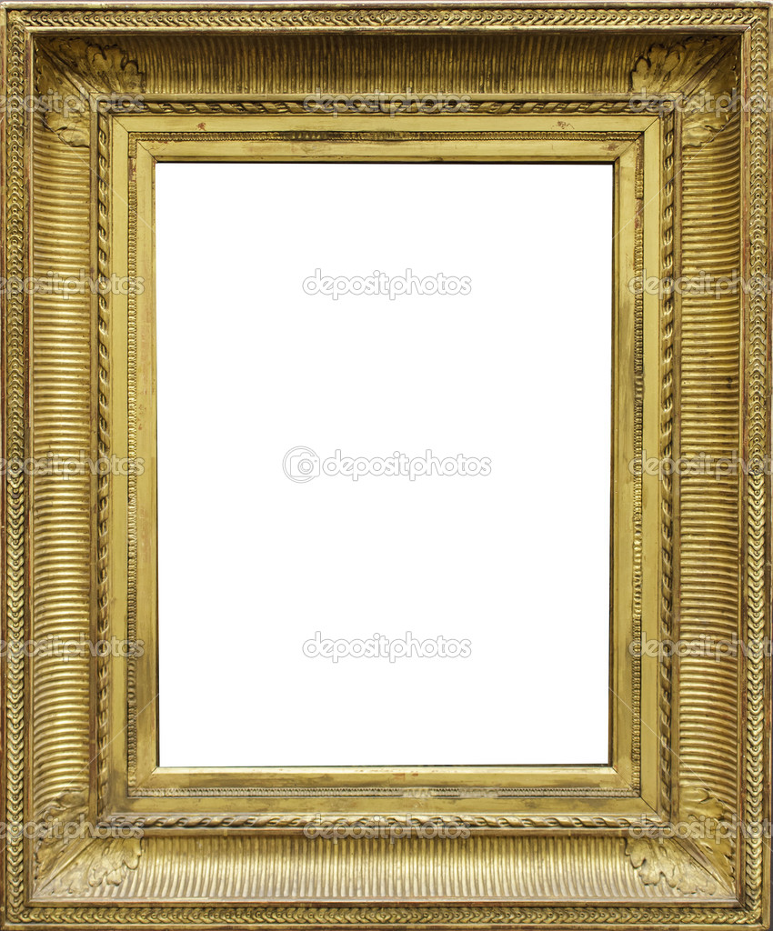 Empty frame — Stock Photo © boggy22 #37265589