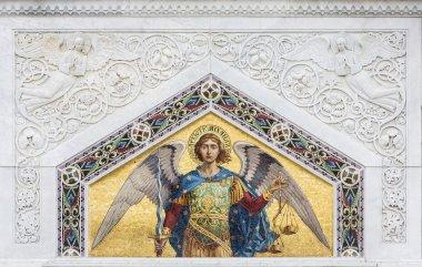 Saint Michael from St. Spyridon church in Trieste, Italy