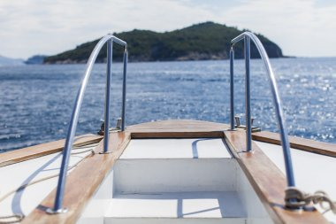 Boat at Adriatic sea