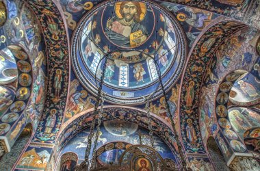 "Картина, постер, плакат, фотообои ""Церковь Святого Георгия"", артикул 47578069"