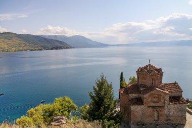 Church near the lake