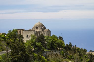 St. Giovanni church in Erice, Italy