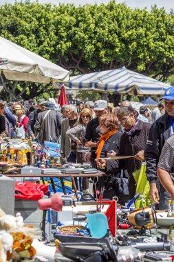 Catania flea market