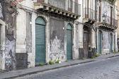 strada a catania, Italia