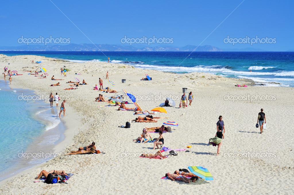 playa de ses illetes in formentera spain